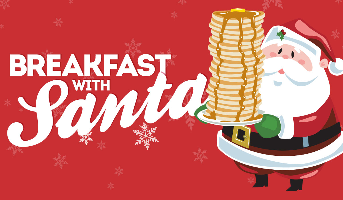 breakfast with santa at bogeys  bogey macaws american grille elementary school clipart background elementary school clipart black and white